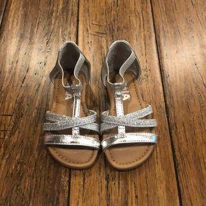 Mia silver sandals
